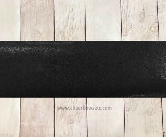 Black Mystique Iron On Hairbow making strip