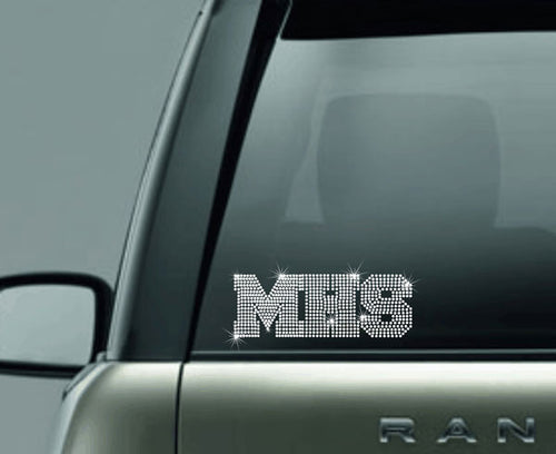 Rhinestone Car Decal