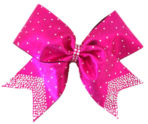 Pink Diamond Cheerleading Bow