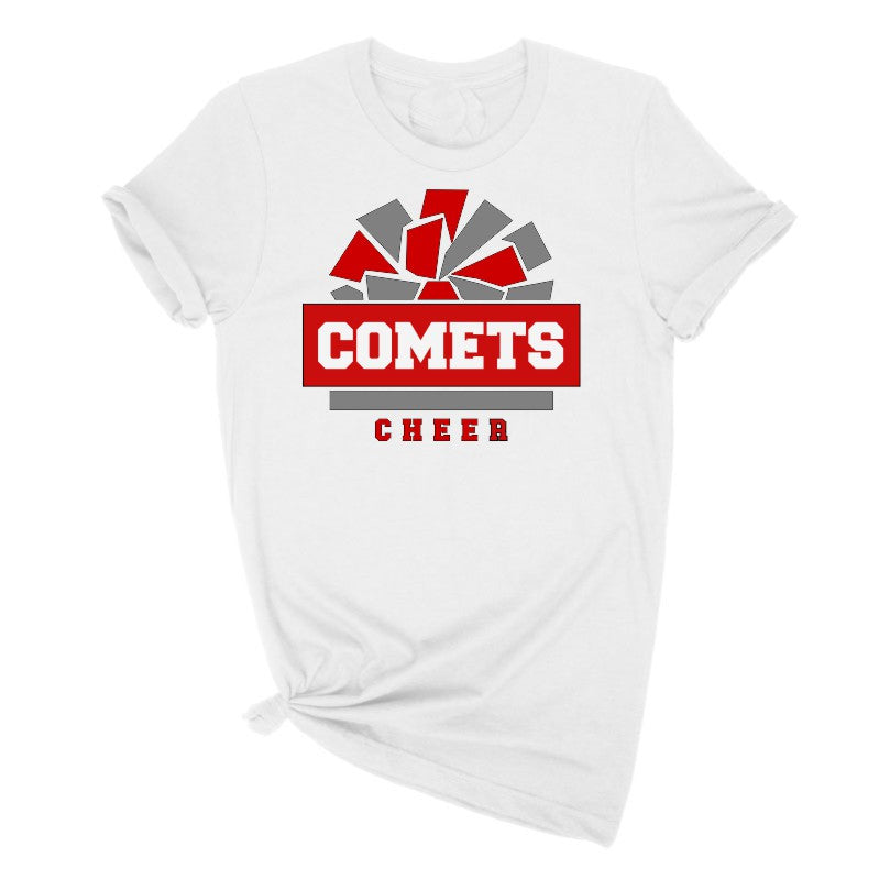Comets Cheerleading Tee SHirt