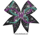 Custom 3D Center Cheer Bow