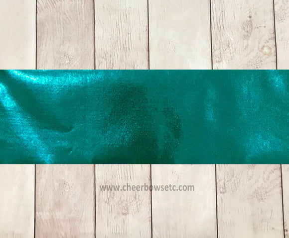 Dark Teal Mystique Cut Fabric Strip