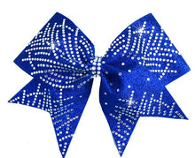Load image into Gallery viewer, GIGI Royal Blue Cheer Bow