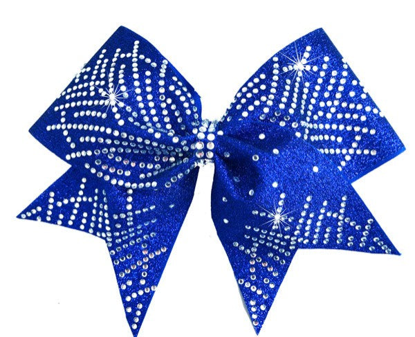 GIGI Royal Blue Cheer Bow