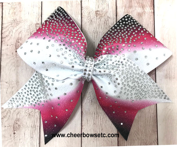 Dye Sublimation Frosted Loops Bow