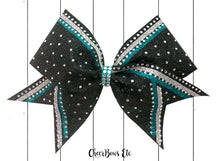 Load image into Gallery viewer, legacy bow in teal/turquoise
