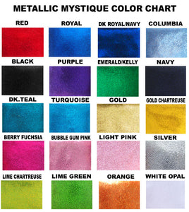 color chart for mystique fabrics