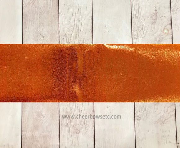 Orange Mystique Cut Fabric Strip