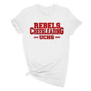 Rebels Cheer REd