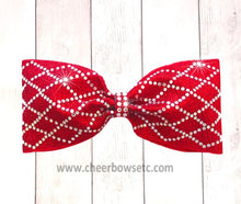 Load image into Gallery viewer, Red Diamond Material Girl Bow Tailless