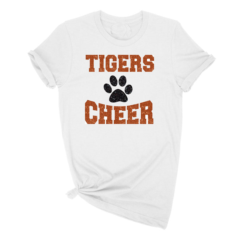 Tigers Cheerleading Tee Shirt