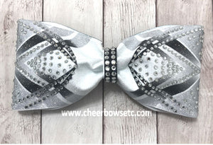 Dye Sublimation Thundervolt Tailless Cheer Bow