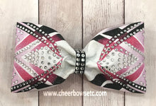 Load image into Gallery viewer, Dye Sublimation Thundervolt Tailless Cheer Bow
