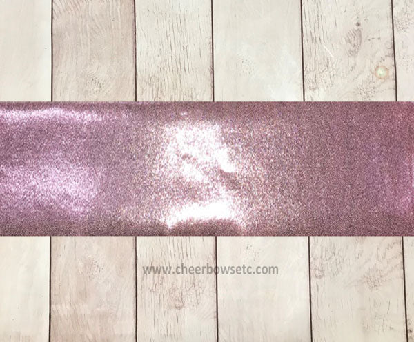 Baby Pink Mystique Cut Fabric Strip