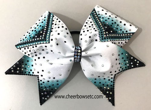 Bow Delight Dye Sublimation Cheerleading Hair Bows