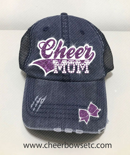 Cheer Mom Bling Hat