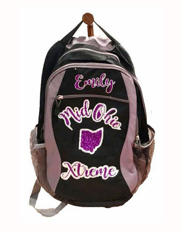 Personalized Cheerleading Backpack