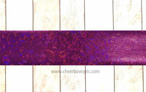 "Ready To Press Fuchsia Shattered Glass 3""X 30"" Bow Making Strips 23 Available!"