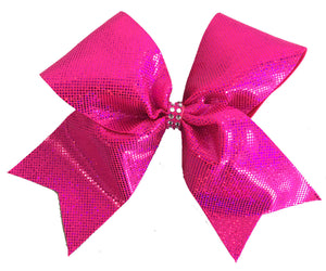 Sparkle Spandex Pink Out Bow