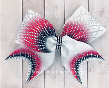 Load image into Gallery viewer, Hot Pink Gigi cheerleading hair bow