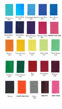 Load image into Gallery viewer, grosgrain ribbon color chart school bows