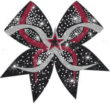 Custom Center 3D Infinity Rhinestone Bow