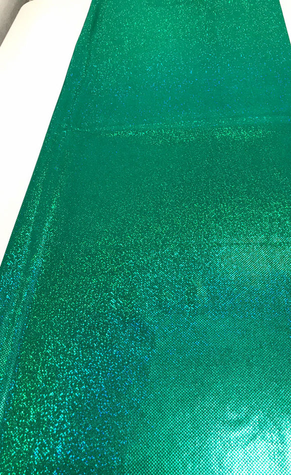 Kelly Green Sparkle Spandex-15 yards available