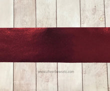Load image into Gallery viewer, Maroon Bow Making Cut Fabric Strip