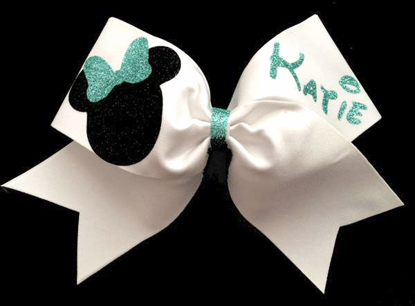 Nationals Cheerleading Bow