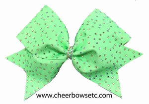 The Glitter Rhinestone Stardust Bow