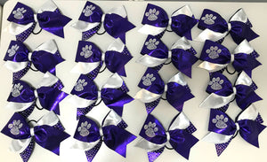 The Rhinestone Paw Kick Spirit Bow