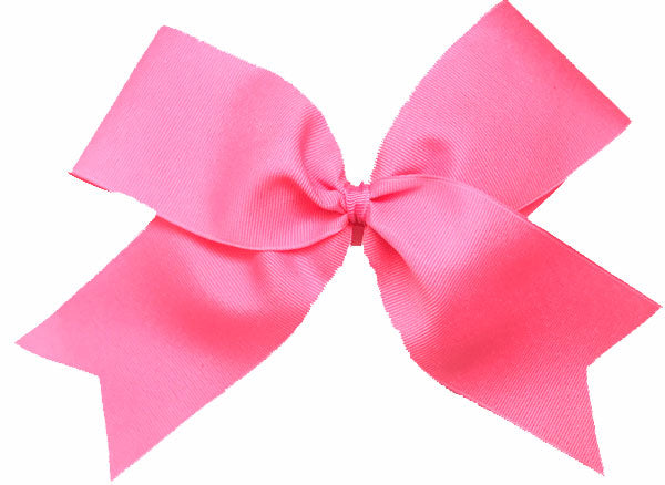 Pink Breast Cancer Awareness Ribbon Bow