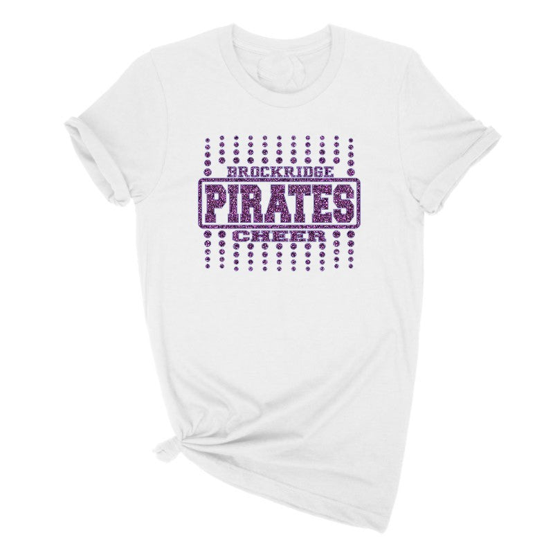 Pirates Cheerleading Tee Shirt
