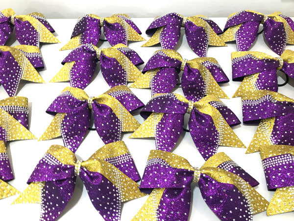 All Glitter Luxury Princess Rhinestone Bow.