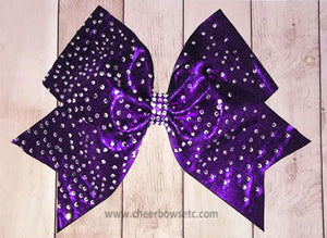 The Rhinestone Starburst Bow