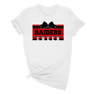 Raiders cheerleading tee shirt