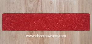 Red Pre-Cut Cheerleading Bow Strips