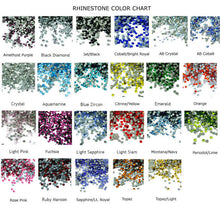 Load image into Gallery viewer, rhinestones color chart