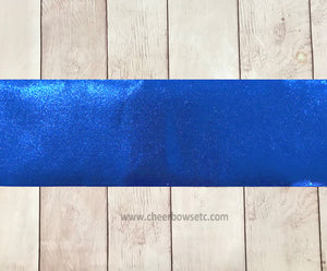 "Iron On Royal Blue Mystique Bow Making Strips 3"" X 28"""