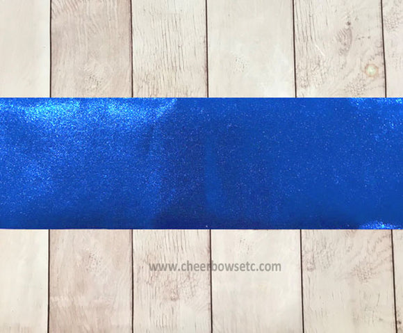 Iron On Royal Blue Mystique Bow Making Strips -3