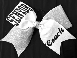 Coach Cheerleading Bow