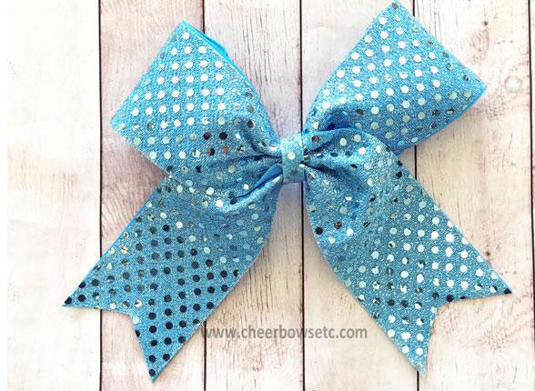 Small Sequin School Bows