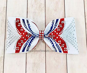 Girl Power Tailless Cheer Bow