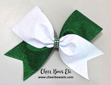 Load image into Gallery viewer, Tick Tock Glitter Spirit Bow