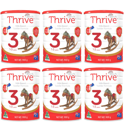 6 x Stage 3 Premium Toddler Formula
