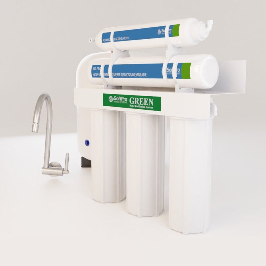 Reverse Osmosis System w/ Advanced Alkalizing Filter
