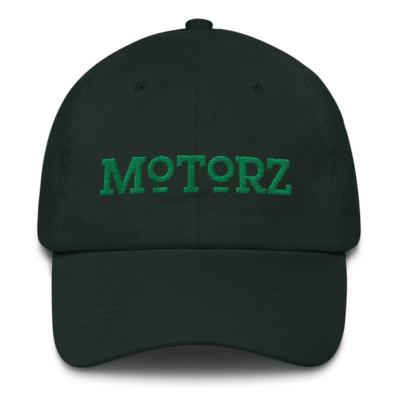 Motorz Bayside Cotton Cap (Green Thread)