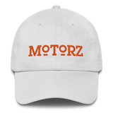 Motorz Bayside Cotton Cap (Orange Thread)