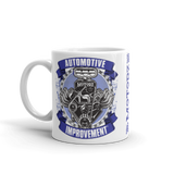 Motorz V8 Automotive Improvement® Mug (Purple)