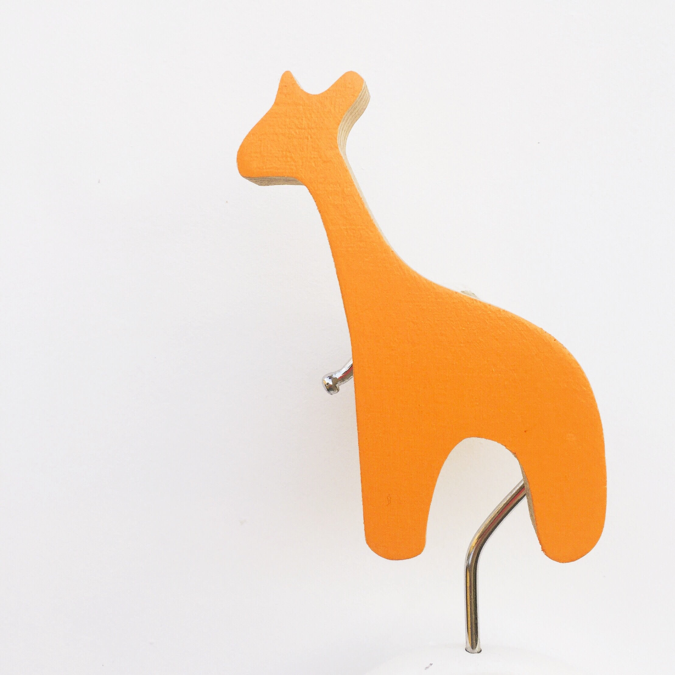 knobbly. Giraffe wall hook
